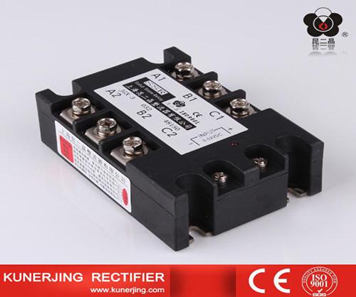 继电器的负载端实际上通过开关电路来供电,所以要启动继电器必须在
