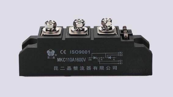怎么区别可控硅模块和平板式晶闸管模块?